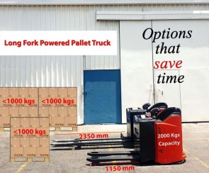 Long Fork Pallet trucks: They save you time and money